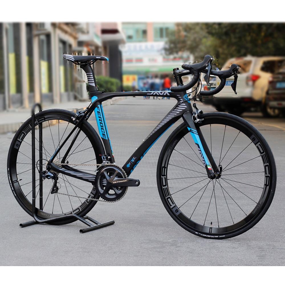 2017 JAVA Feroce Carbon Road Bike with Ultegra R8000 Full Group Aluminium Wheels 22 speed Capiler Brake 700C Racing Bicycle epos 8000 700 22 68 87