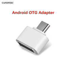 Micro USB OTG Adapter USB C OTG Adapter V8 Connector Converter for Samsung Huawei ZTE Xiaomi SONY LG Android Type-c Adapter OTG(China)