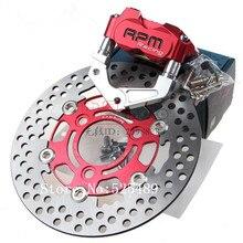 Cheapest prices For Yamaha BWS 100 JOG 50 rr Aerox Nitro RPM Brand CNC Motorcycle Brake Calipers+Brake Pump Adapter Bracket+200mm/220mm Disc Set
