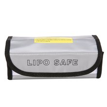 Fire Retardant LiPo Battery Bag LiPo Safe Guard Charging Box Bag Sack Pouch Fireproof Explosion-proof for RC Model Drone Car free shipping 2017new arrival fireproof rc liposafety bagguard realacc fire retardant battery bag 215 150 110mm with handle