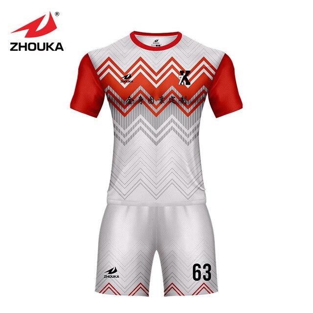 7acee4a0209fd Criar uma camisa de futebol camisa e calça combinações de cores senhoras ou  personalizado futebol jerseys