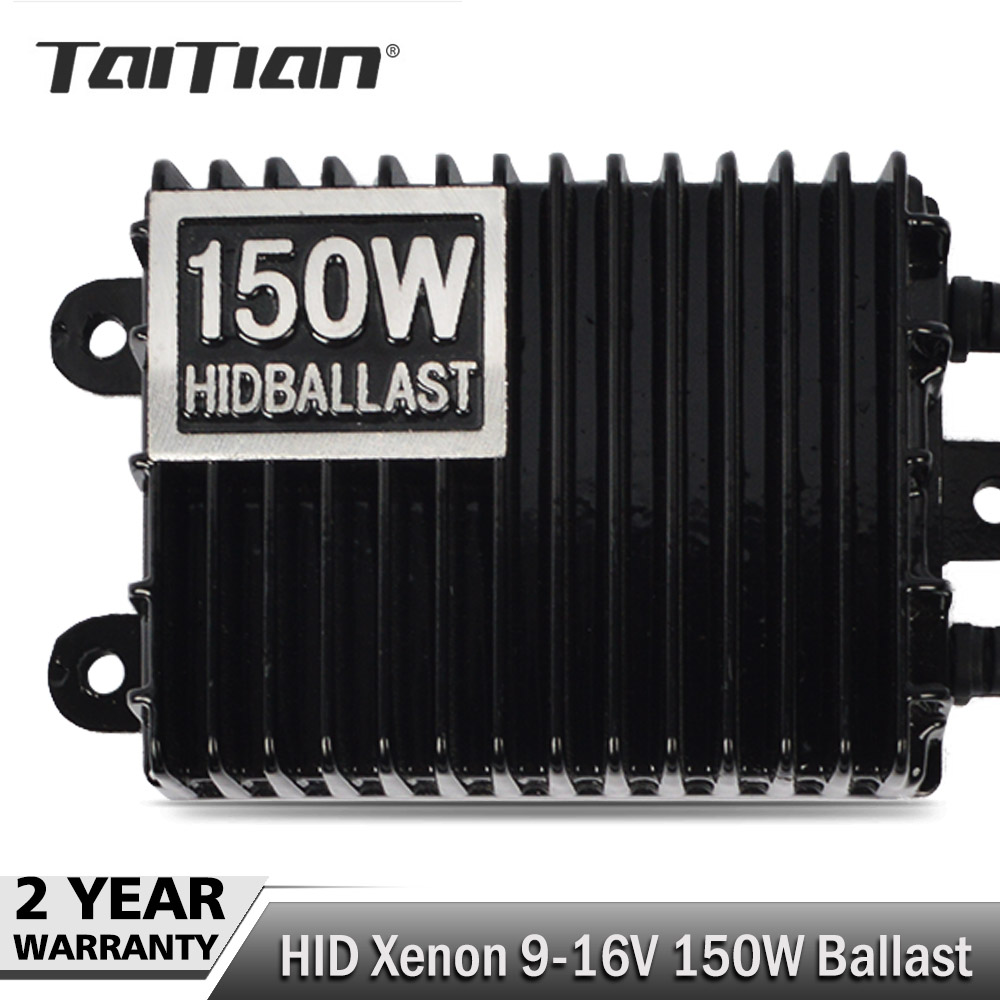 Taitian 1pcs 150W 100W 35W Replacement HID Xenon lamp ballast headlight kit 55w 12V H1 H3 H4 H7 H11 9005 9006 9004 9008 6000K free shipping iphcar car styling hid xenon h1 h7 h11 9004 9005 9006 9007 bulb kit 35w hid light kit with slim ballast