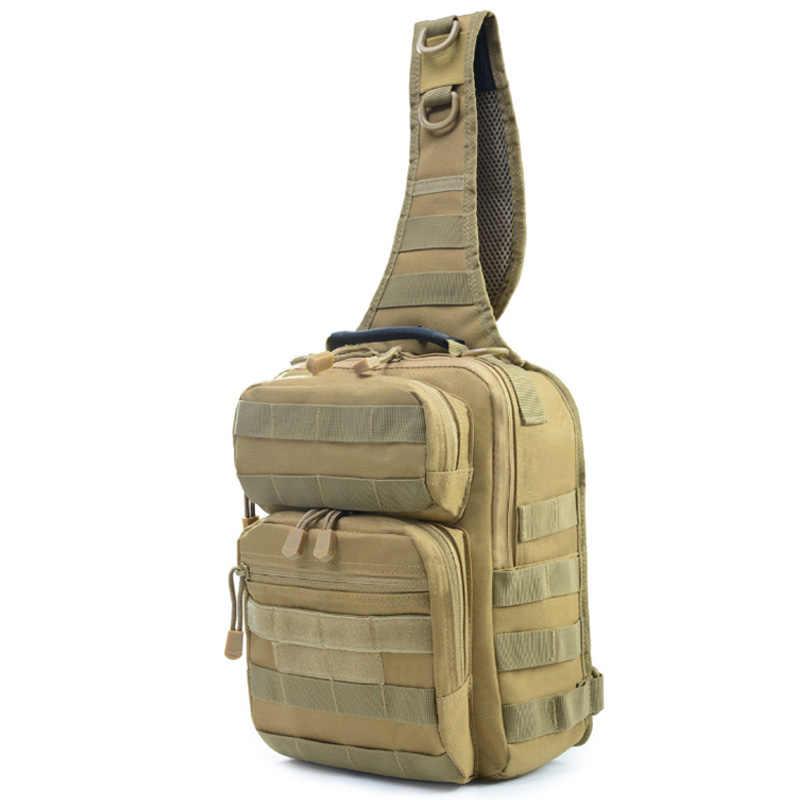 Sport chasse hommes poitrine Molle unique sacs à bandoulière en Nylon Wading poitrine Pack unisexe