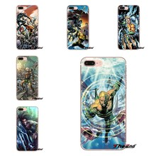 สำหรับ HTC One U11 U12 X9 M7 M8 A9 M9 M10 E9 Plus Desire 630 530 626 628 816 820 830 Aquaman มีด Comic Hero Jason Momoa TPU กรณี(China)