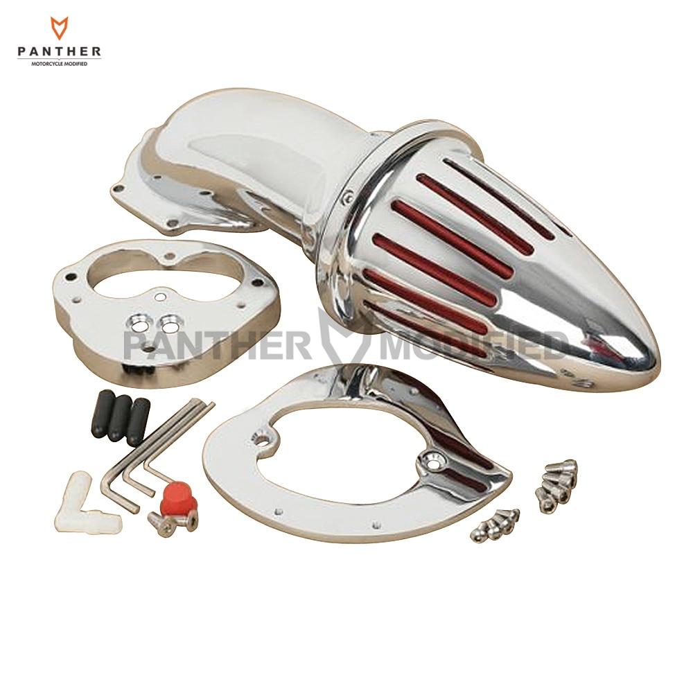 Motorcycle Bullet Air Cleaner kit intake For Kawasaki Vulcan VN 2000 Classic LT