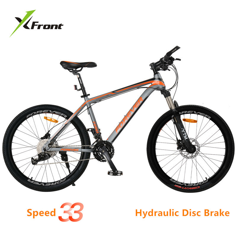 New Brand Mountain Bike Aluminum Alloy Frame 33 font b Speed b font Dual Hydraulic Disc
