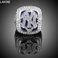 LAKONE Championship Ring 2009 New York Yankee Logo Baseball World Series Championship Ring Sports Fans Rings