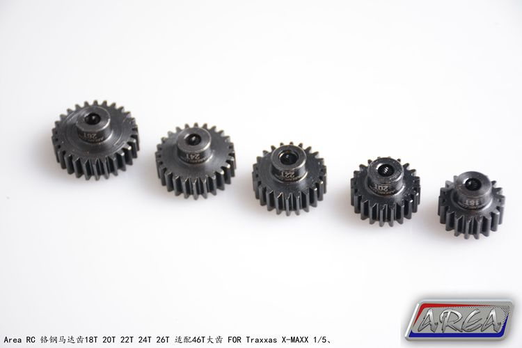 Area RC Gear 18T 20T 22T 24T 26T FOR Traxxas X-MAXX 1/5 dunlop winter maxx wm01 205 65 r15 t