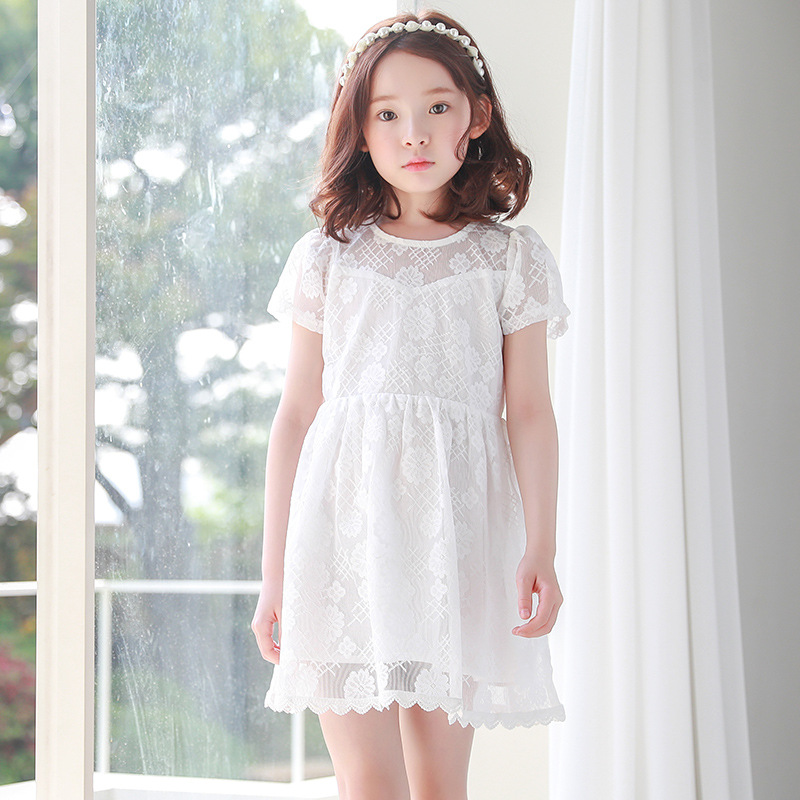 new 2018 fashion kid lace princess dress baby clothes little teenage girls o-neck dresses children party dress clothing for girl town talk anti tarnish silver polishing cloth 13 x 18cm by town talk