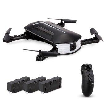 JJRC H37 Mini BABY ELFIE WIFI FPV 720P Camera Drone Quadcopter Foldable G-sensor RC Selfie Drone Quad Two Extra Battery