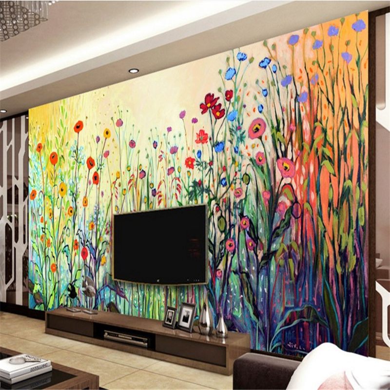 Online buy wholesale painting fresco from china painting fresco wholesalers - Moderne fresco ...