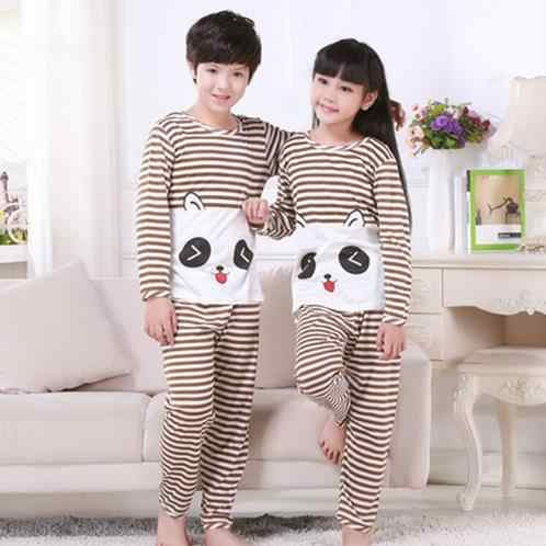 059c07df0bdb Detail Feedback Questions about Kids long Sleeve pyjamas Striped ...