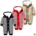 Inverno 1 PCS Bebê macacão além de vilo nova unisex macacão nascido quentes roupas de bebê menino roupa de bebe recem nascido menino macacão