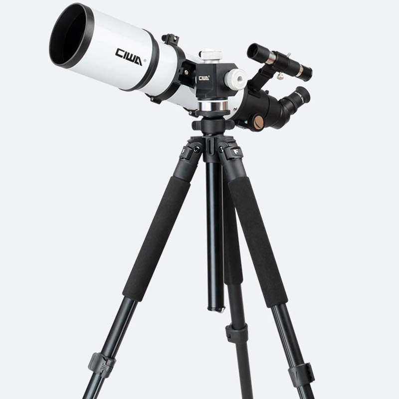 CIWA Portable Tripod Space telescopic Outdoor Monocular Astronomical Telescope Optical Refractor Design Professional Telescope gskyer telescope 600x90mm az astronomical refractor telescope german technology scope power astronomical mirror telescope