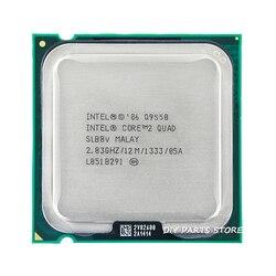 4 النواة إنتل الأساسية 2 رباعية Q9550 المقبس LGA 775 وحدة المعالجة المركزية إنتل Q9550 المعالج 2.8G hz/12 M /1333 GHz)