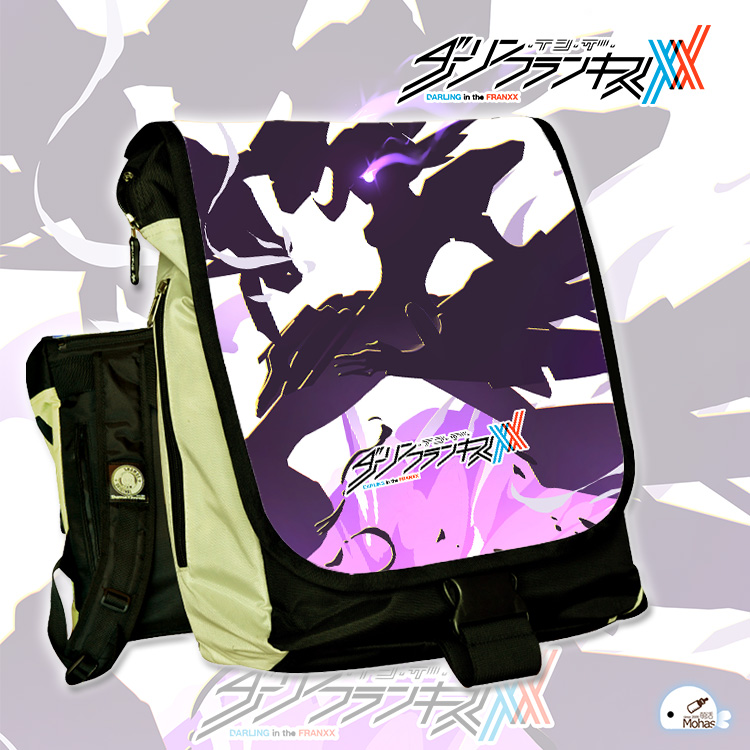 Anime DARLING in the FRANXX COSPLAY Anime Male and female Students Campus Leisure Travel Backpack Computer bag anime tokyo ghoul cosplay anime shoulder bag male and female middle school student travel leisure backpack page 8