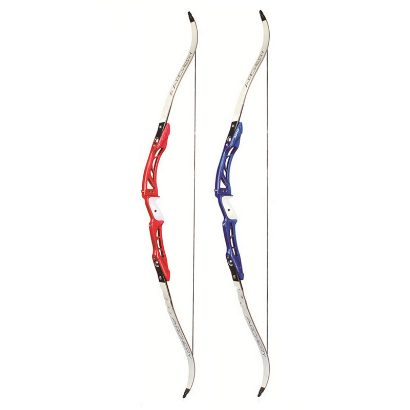 2 Color 18-32 Lbs 68 Inches F165 Recurve Bow Aluminum Alloy Handle and Maple Limbs for Right Hand Archery Hunting Shooting 7 colour 18 40 lbs recurve bow with sight arrow rest aluminum alloy handle for both right or left hand archery hunting shooting