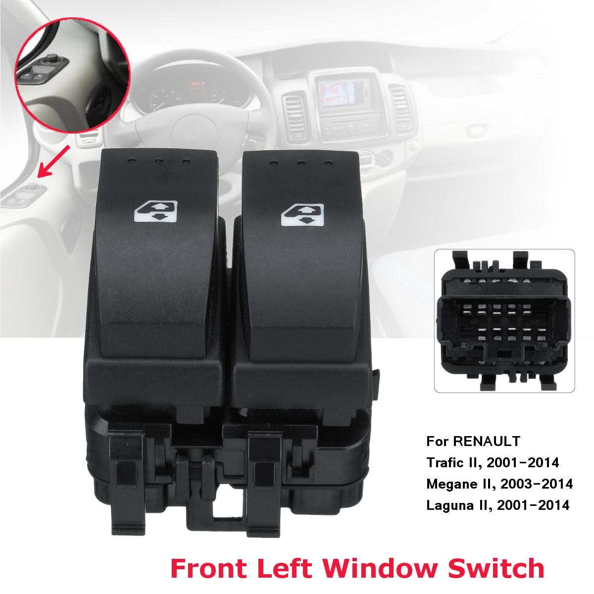 Front Window Lifter Switch 8200315034 For Renault Trafic II/Megane II/Laguna II