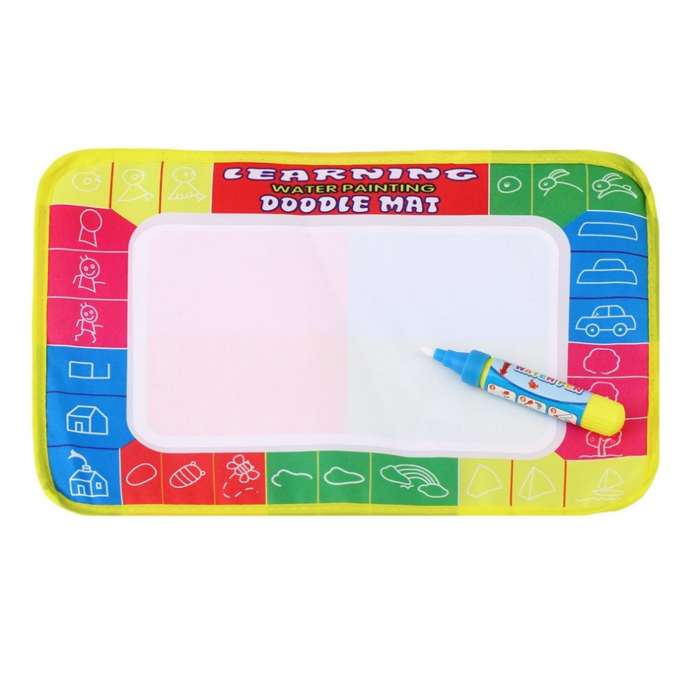 OCDAY весело для маленьких добавить воды записи ничья Краски воды полотно Magic Doodle коврик с волшебной ручкой кисти подарок рождество Новый