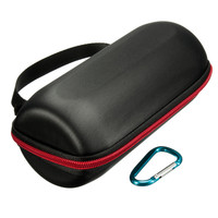 Newest Black Travel Carry Pouch Sleeve Portable Protective Hard Zipper Case Bag Box With Strap For