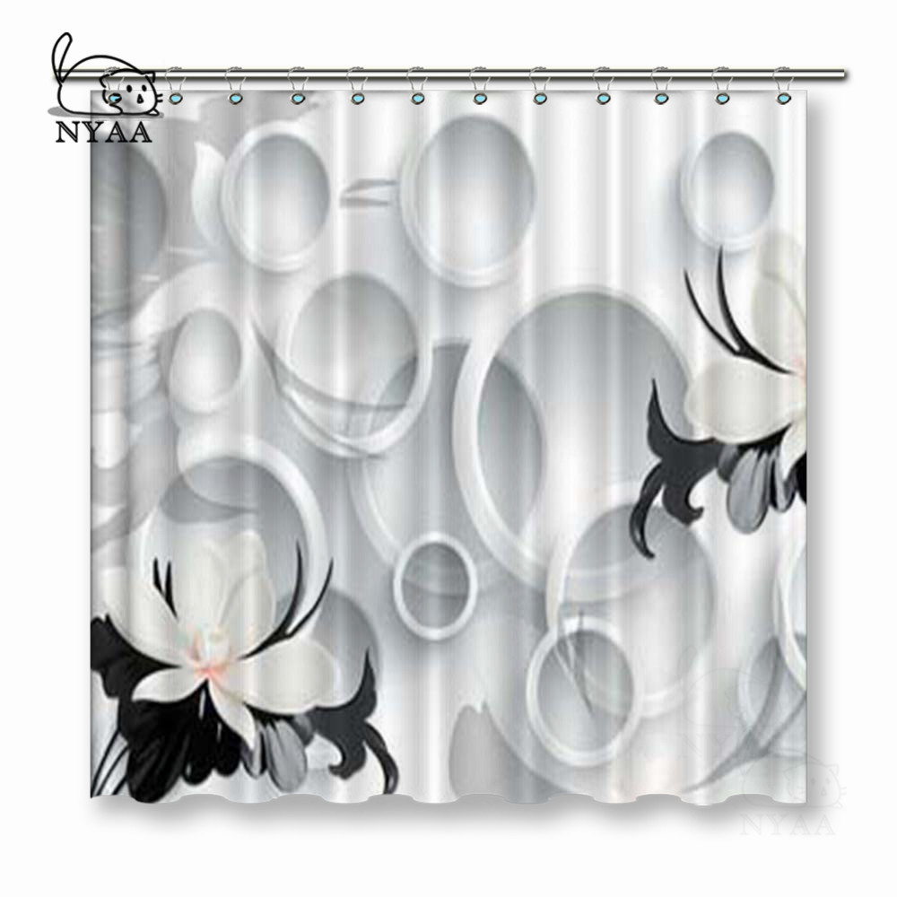 michael Vixm Shower Curtains Polyester Fabric Bathroom Curtain 66x72 Inch jordan