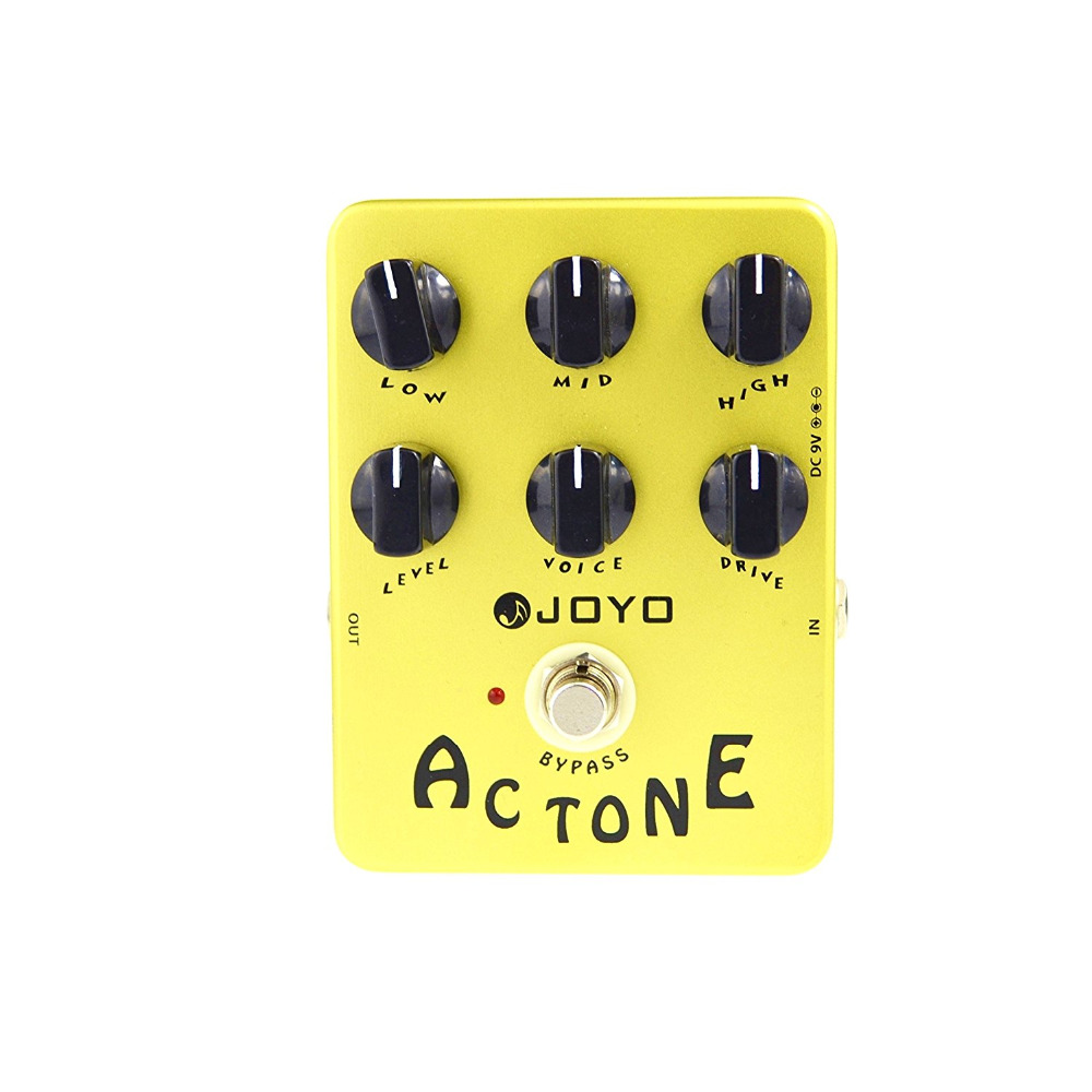 JOYO JF-13 AC Tone Guitar Effect Pedal Classic British Rock Sound Reproduces The Sound O ...