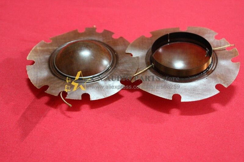 1 piezas de 50 vatios de alta calidad KSV transmisión diafragma altavoz cuerno altavoz trompeta bugle (identificación de la Bobina de voz de trump 51,5mm-90mm