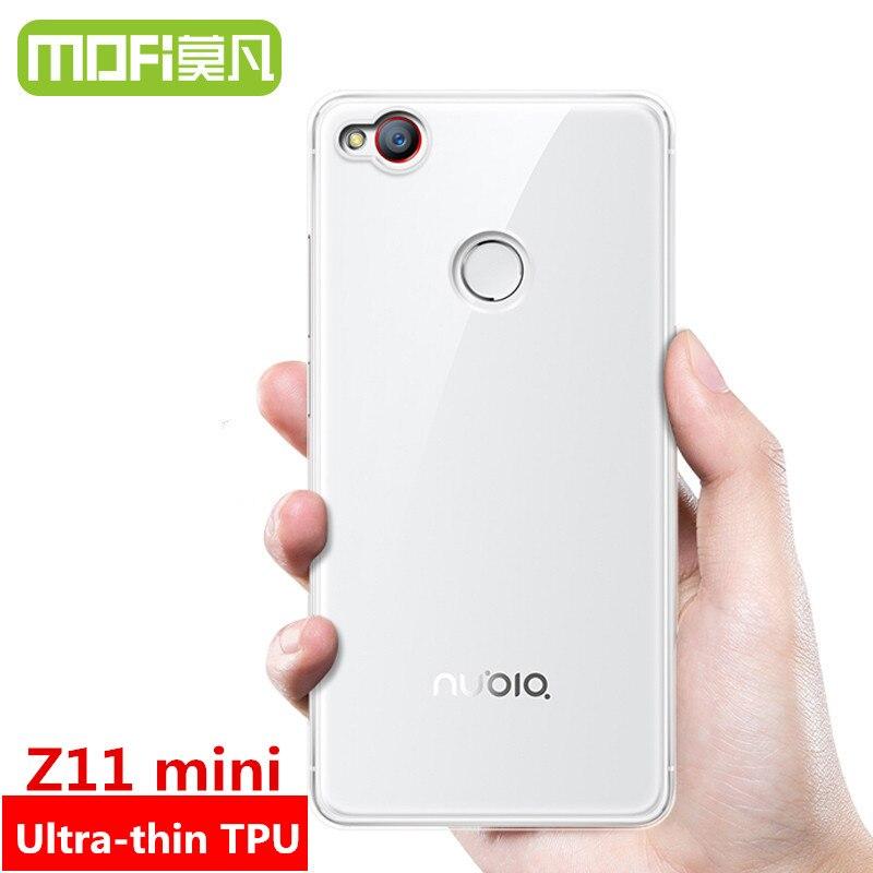 MOFi original Nubia z11mini Z11 mini caso de la contraportada caso de silicio co