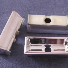 LJXE-40 Высокое качество светодиодные уличные фонари отражатель чашки, размер: 40X16X13,3 мм, угол: 80*100, чистая поверхность, алюминиевое покрытие, ПК