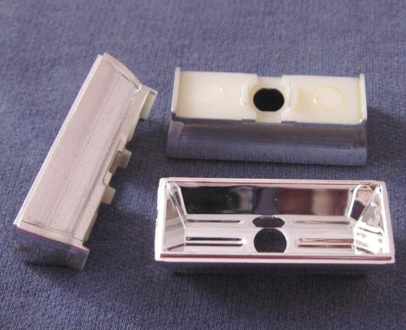 LJXE-40 Tazza riflettore per lampioni a led di alta qualità, dimensioni: 40X16X13.3mm, angolo: 80 * 100, superficie pulita, rivestimento in alluminio, PC