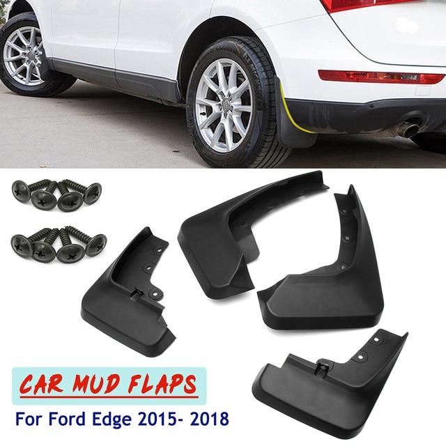 Pcs Car Front Rear Mudflap Mudguards Sludge Splash Guards Mud Flaps Fender Flares For Ford Edge