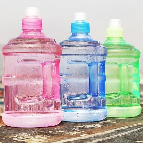 1000Ml Creative Plastic Barreled Sealing Water Bottles Handle Portable Students Water Jug For Traveling Biking Camping Pakistan