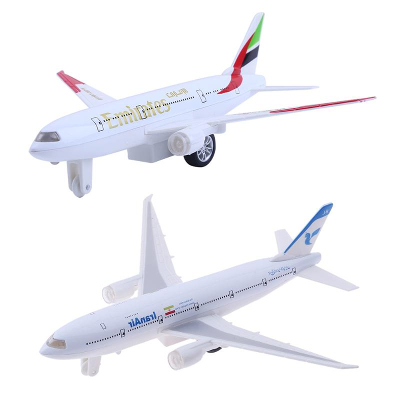 Alloy Metal Boeing 777 Airbus Airplane Model Toy Airways Airplane Model Plane Model W Stand Aircraft Plane Model Children Gift model aircraft