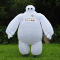 Halloween Big Hero 6 Inflatable Baymax Costume for Women and Men Adult Cosplay Fancy Dress Suit 2m Baymax Mascot