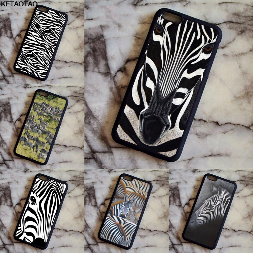 KETAOTAO Zebra Pattern Stampa Animale Phone Cases for Samsung galaxy S3 4 5 6 7 8 9 Note 3 4 5 7 8 Case Soft TPU Rubber Silicone