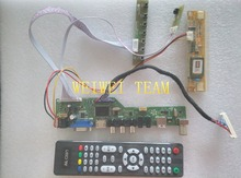 TV+HDMI+VGA+AV+USB+AUDIO TV LCD controller board 15.4 LP154W01 B154EW08 B154EW01 LP154WX4 driver DIY kits 1280*800