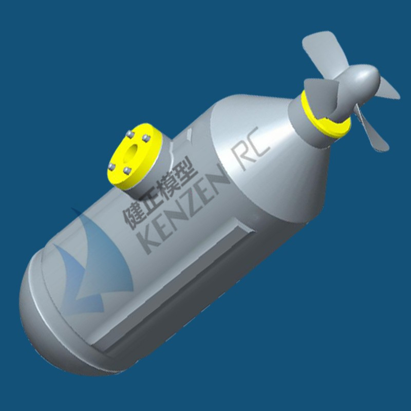 US $428 0  KZ 4K C Underwater Thruster (propulsor) Electric Brushless Motor  New Motor Design for RC Boats without Kort Nozzle-in Racing Boats from