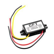 CPT-UL-1 Водонепроницаемый DC/DC преобразователь Регулятор 12 В до 5 В пост 3A 15 Ватт машинные Led Дисплей Мощность КПП автомобиля Мощность понижающий стабилизатор