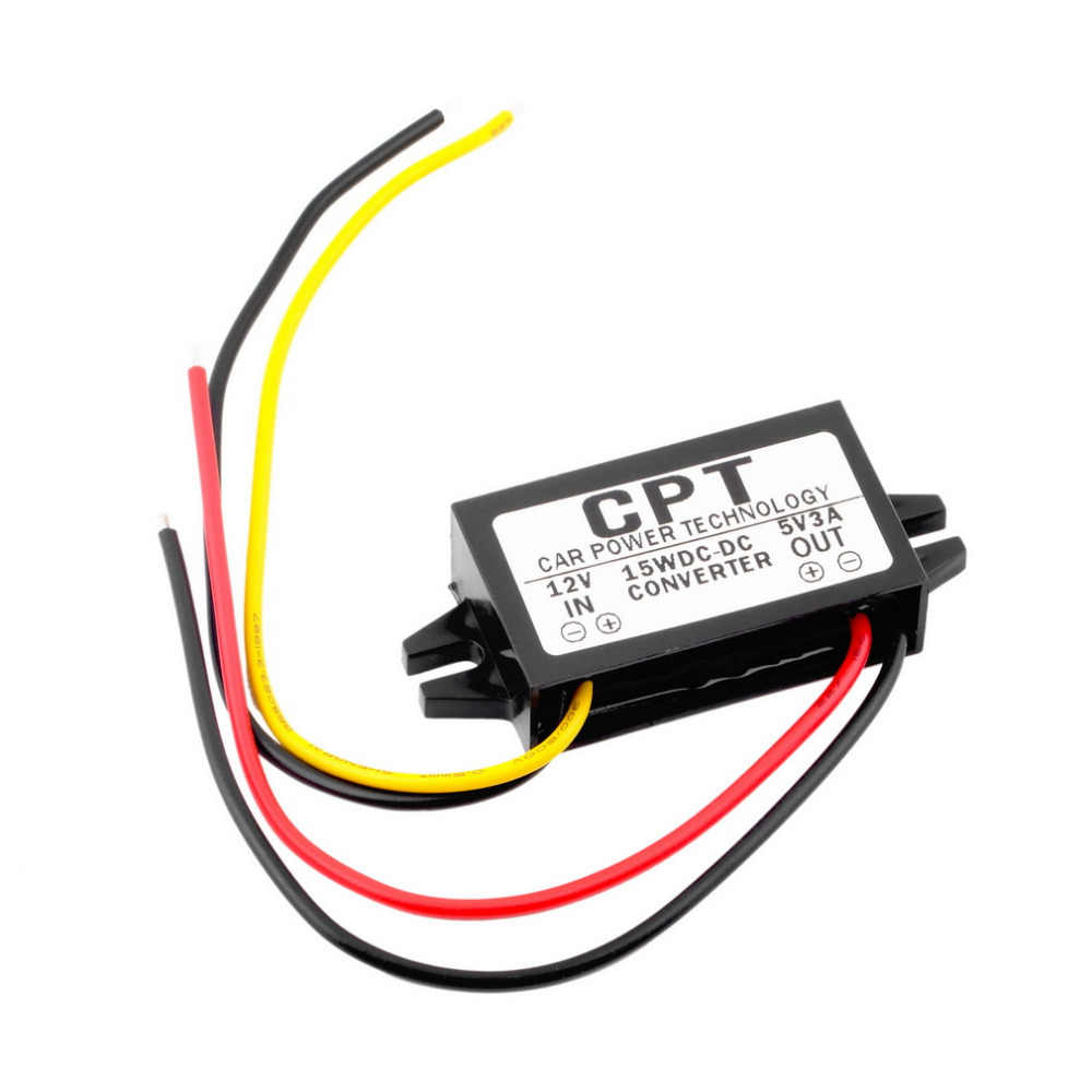 CPT-UL-1 Waterproof DC/DC Converter Regulator 12V to 5V 3A 15W Car Led Display Power CPT Car power Step Down Regulator