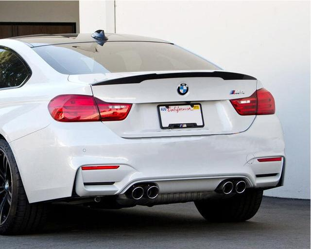 Carbon Fiber CAR REAR WING TRUNK SPOILER FOR 2014 2015 BMW 4 SERIES F32 428i