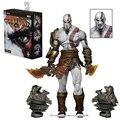 22 cm Jogos NECA God of War Kratos Action Figure Fantasma de Esparta Ultimate Edition Figuras PVC Brinquedos Dos Desenhos Animados Modelo Colecionável brinquedos