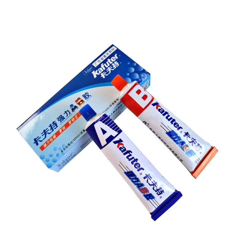 Superior Força Kafuter AB 70g Acrílico Modificado Adesivo Cola para Metal Plástico Madeira Cristal Jóias