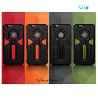 جديد nillkin المدافع 2 درع حامي عودة حالة الغطاء عن اي فون 6 الهاتف الخليوي عودة حالة