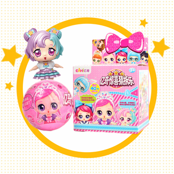 Оригиналы eaki детская игрушка «сделай сам» куклы с оригинальной коробкой BJD детские головоломки игрушки для детей подарки на день рождения к...