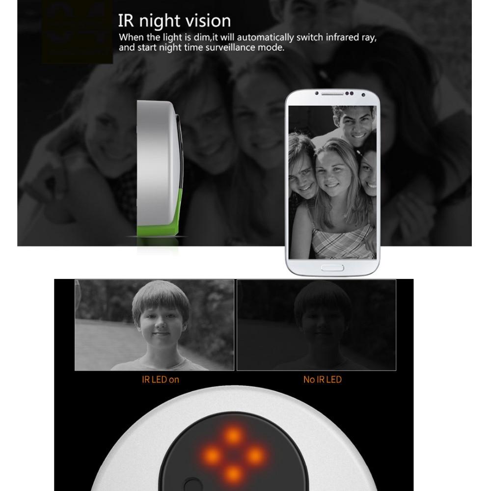 Image 4 - VStarcam C95 HD 720P Wireless WiFi Security IP Door Camera Night Vision Two Way Audio Wide Angle Video Doorcam  Cam-in Doorbell from Security & Protection