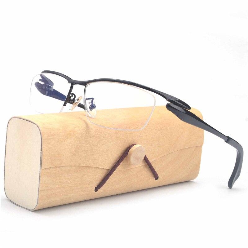 MINCL Pure titanium frame glasses Optical glasses Goggles Women frames Transparent frame glasses for men FML