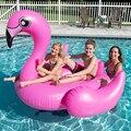 Piscina de água Anel de Natação Brinquedo Inflável Flamingo Cisne Gigante Piscina Inflável Float Anéis de Natação Piscina de Água Brinquedos Divertidos Para O Verão