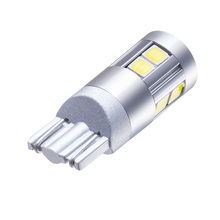 1pcs White Car Clearance Lights bulbs T10 12V W5W 9smd LED Wide  lamp Replacement Bulbs