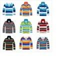 Camisa polo meninos 3-12 T das crianças da marca longo-manga comprida T-shirt de Alta qualidade camisa de algodão quente
