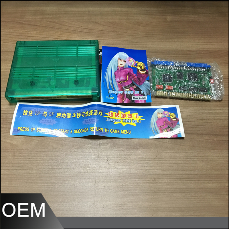 138 in 1 Mutli Arcade Game Board Jamma PCB Horizontal Monitor Game Machine Arcade Cabinet jamma 60 in 1 classic arcade game board for cga vga arcade game machine pac man use up right and cocktail game machine